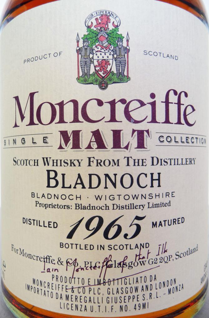 Bladnoch 1965 M&C