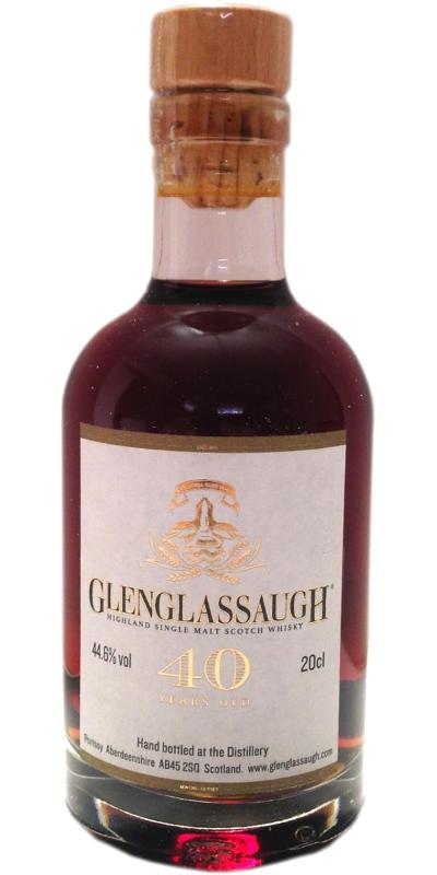Glenglassaugh 40-year-old