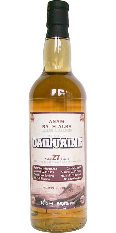 Dailuaine 1983 ANHA