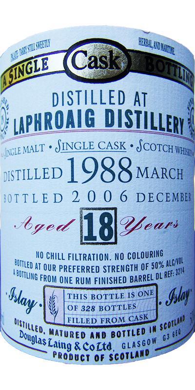 Laphroaig 1988 DL