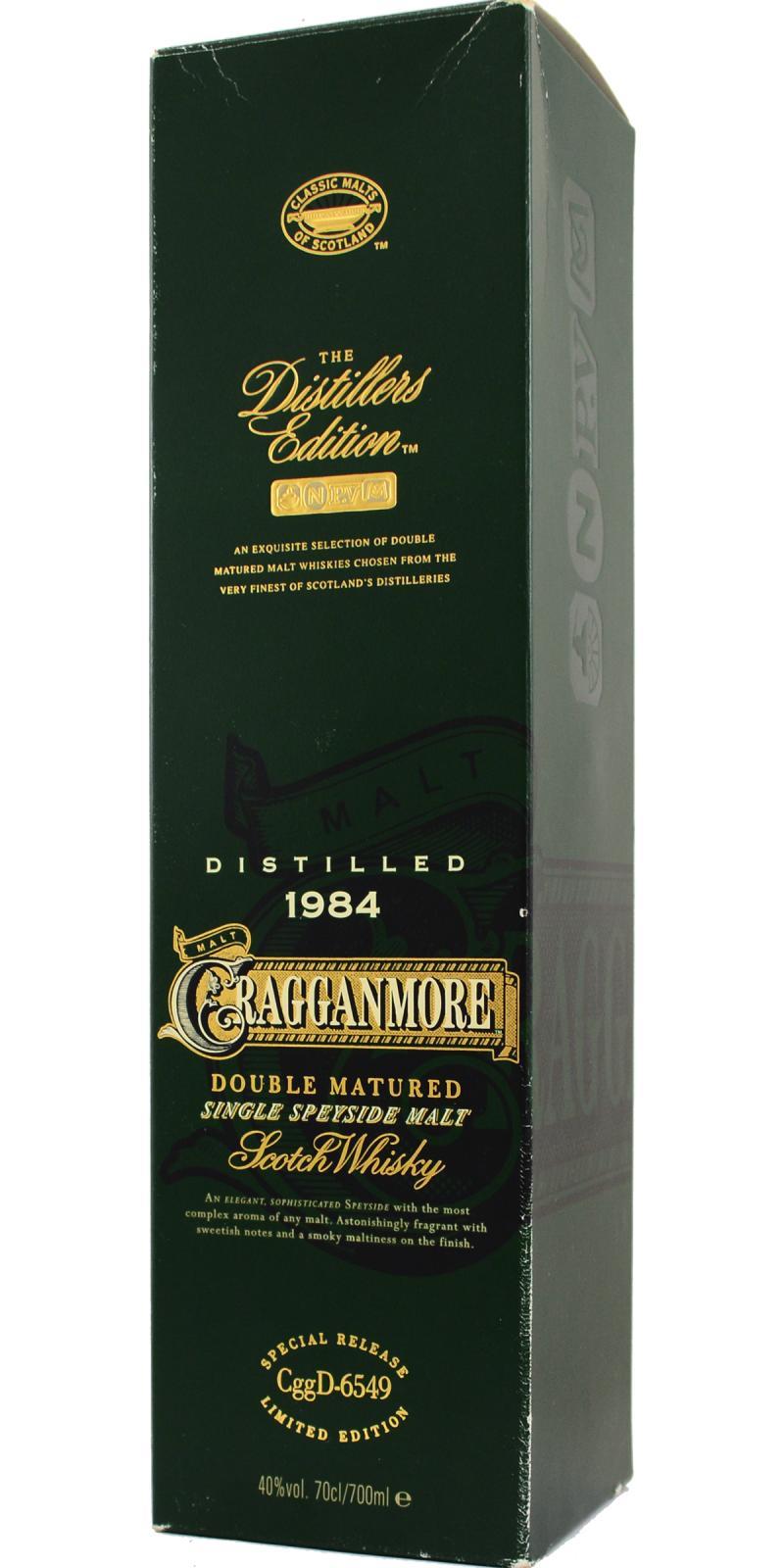Cragganmore 1984