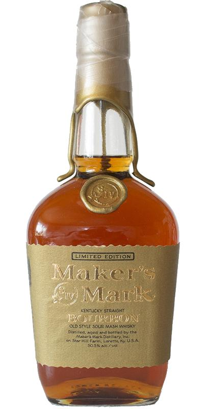 Maker's Mark Gold Wax