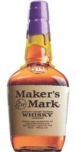 Maker's Mark Purple / Gold Wax