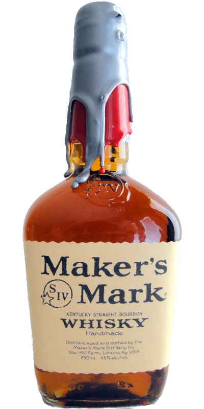 Maker's Mark Red / Silver Wax