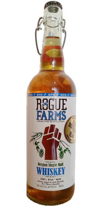 Rogue Chatoe Rogue Oregon Single Malt Whiskey