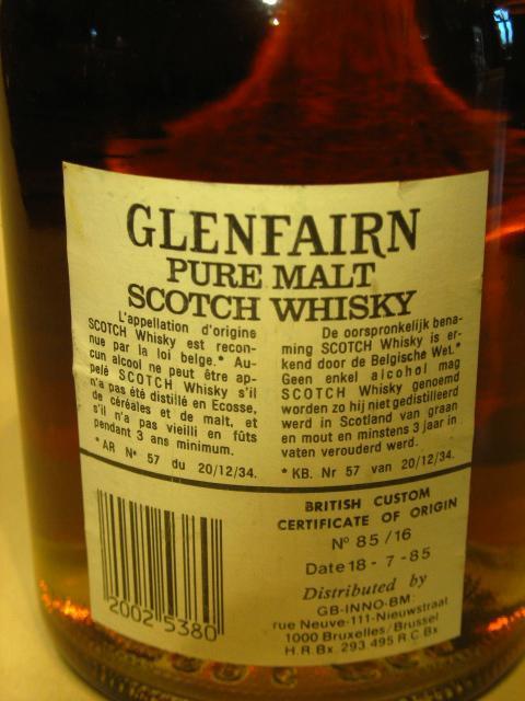 Glenfairn 08-year-old