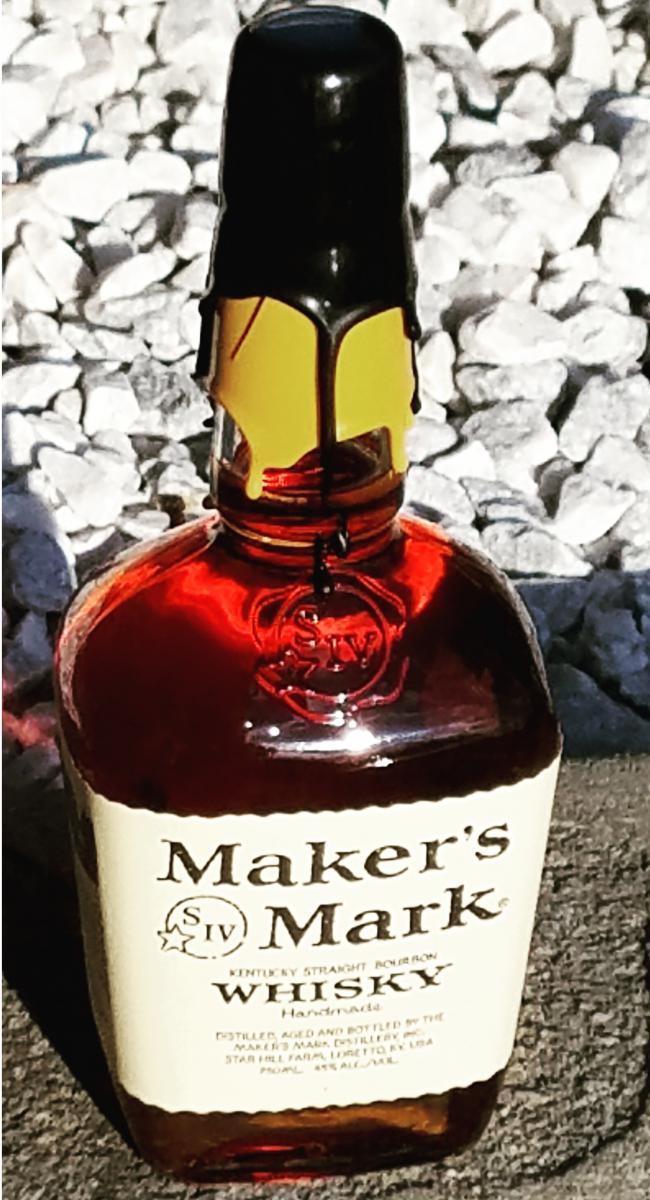 Maker's Mark Black / Gold Wax
