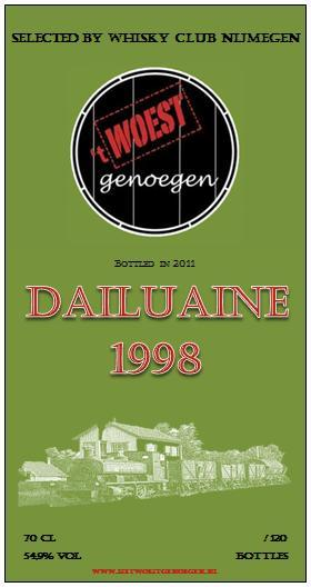 Dailuaine 1998 UD