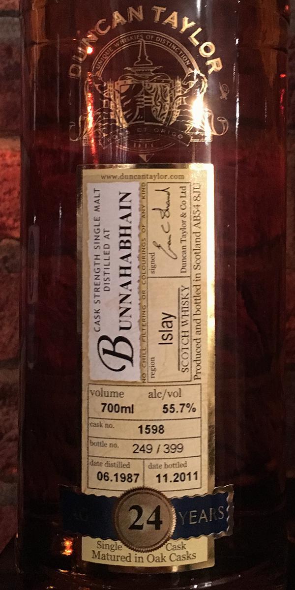 Bunnahabhain 1987 DT