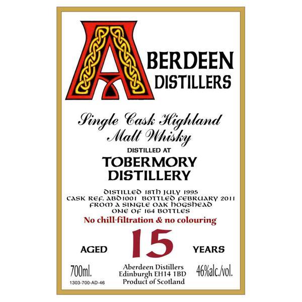 Tobermory 1995 BA