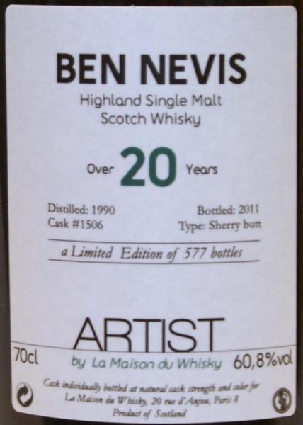 Ben Nevis 1990 LMDW
