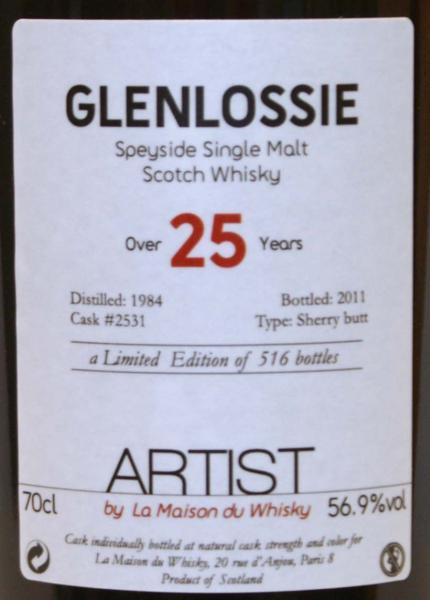 Glenlossie 1984 LMDW