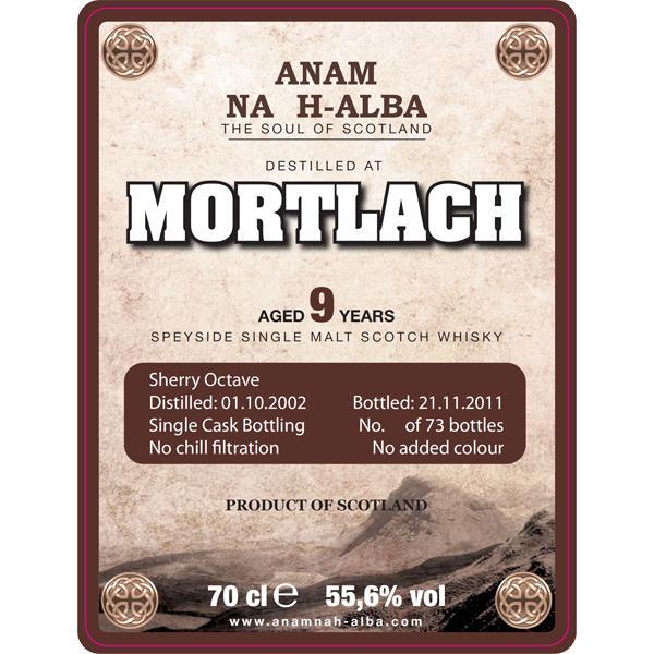 Mortlach 2002 ANHA