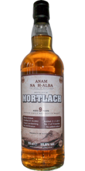 Mortlach 2002 ANHA
