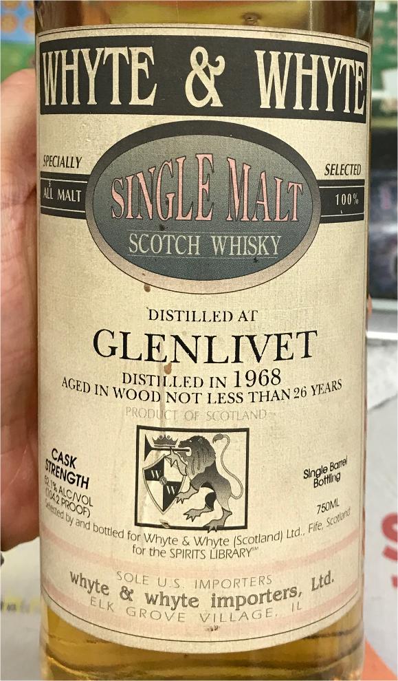 Glenlivet 1968 W&W