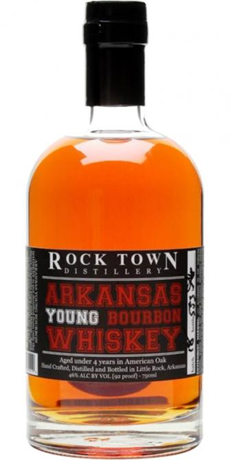 Rock Town Arkansas Young Bourbon Whiskey