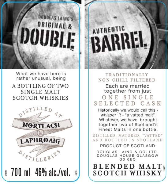 Double Barrel Mortlach / Laphroaig DL