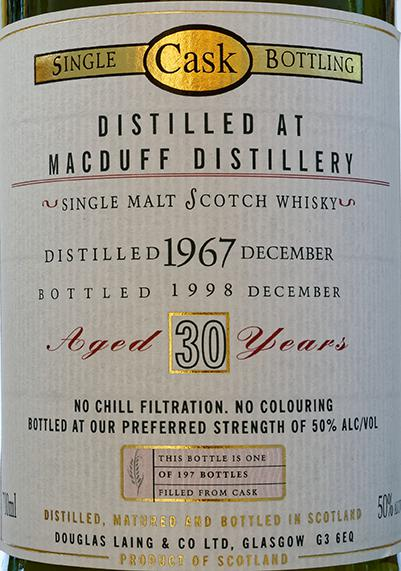 Macduff 1967 DL