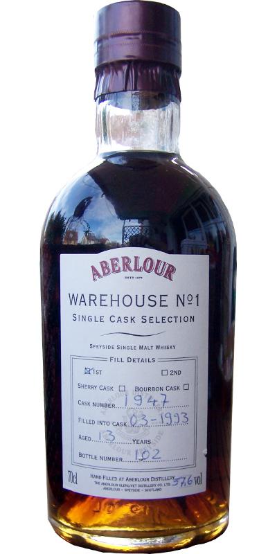 Aberlour 1992 Warehouse No. 1