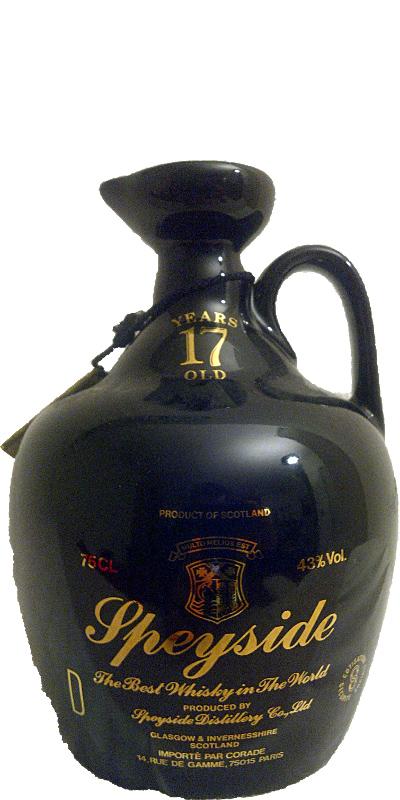 Speyside Distillery 17-year-old