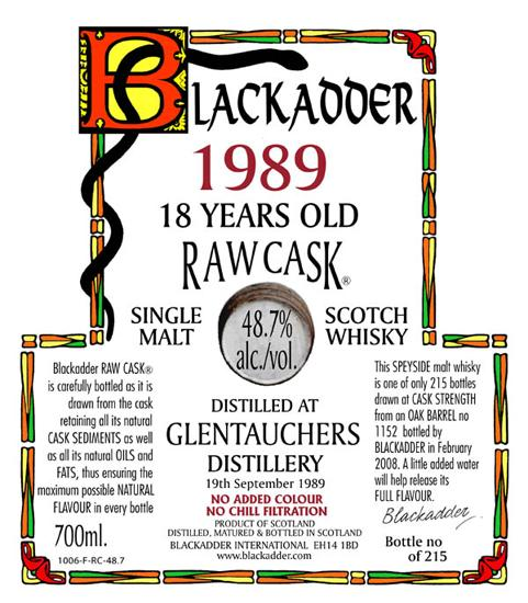 Glentauchers 1989 BA