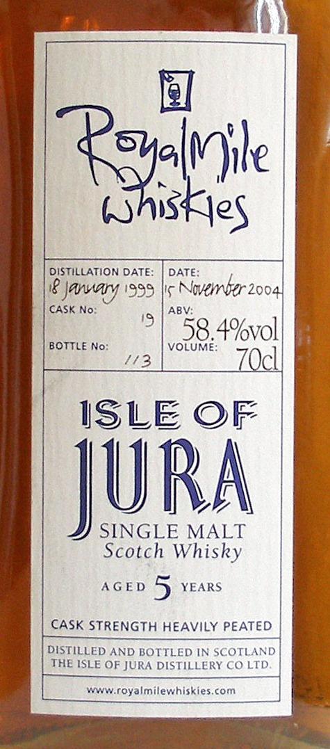 Isle of Jura 1999 RM