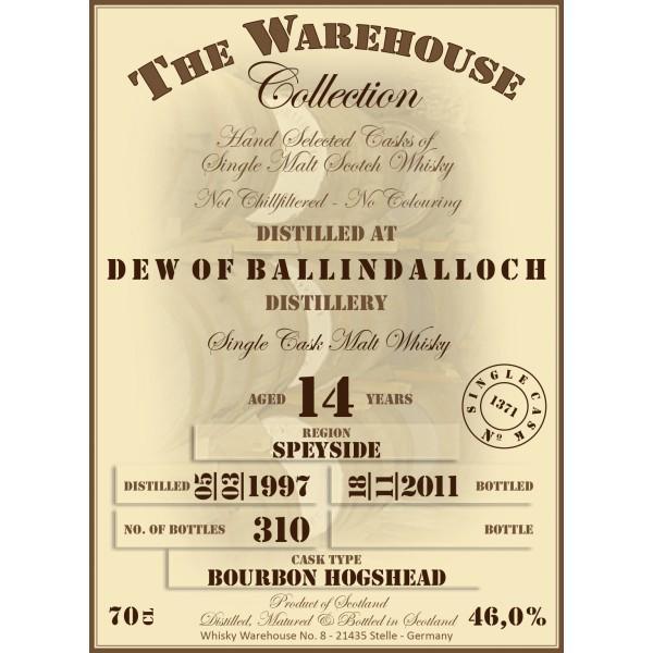Dew of Ballindalloch 1997 WW8
