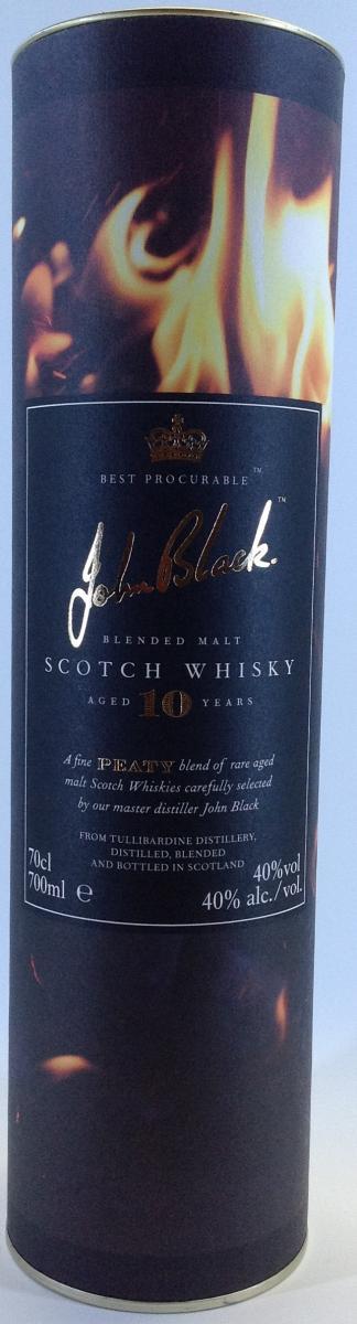 Tullibardine John Black