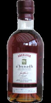 Aberlour A'bunadh batch #16
