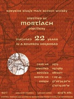 Mortlach 1989 KiW