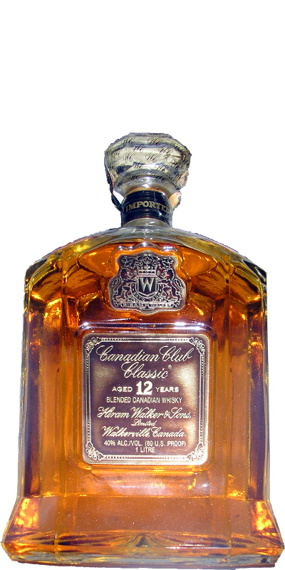 Canadian Club 12-year-old