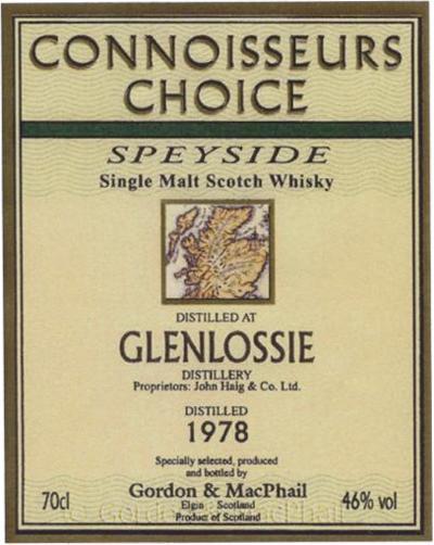 Glenlossie 1978 GM