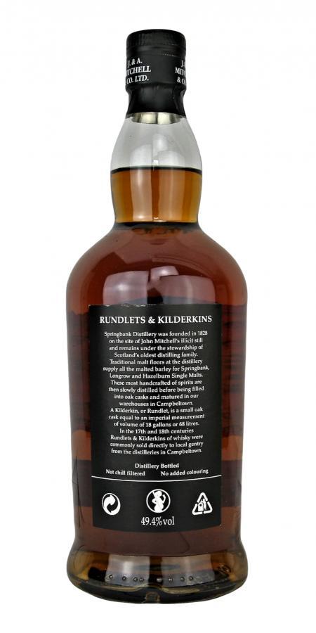 Springbank Rundlets & Kilderkins