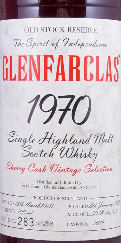 Glenfarclas 1970