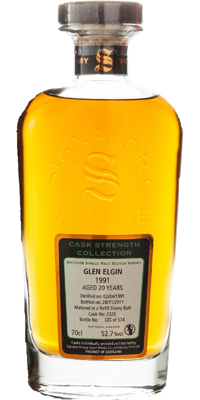 Glen Elgin 1991 SV