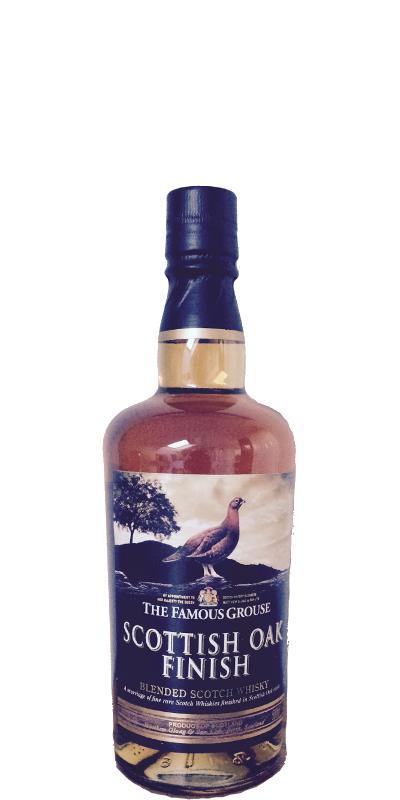 The Famous Grouse Scottish Oak Finish