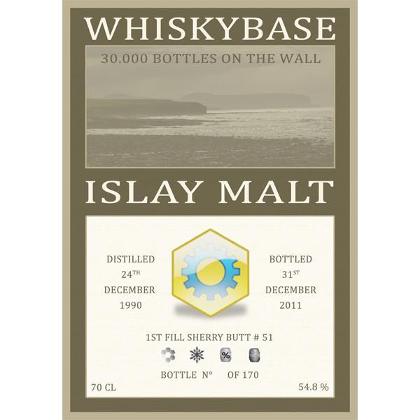 Islay Malt 1990 WB