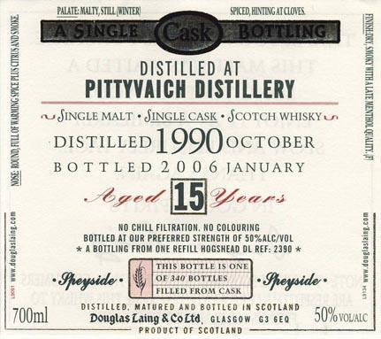 Pittyvaich 1990 DL