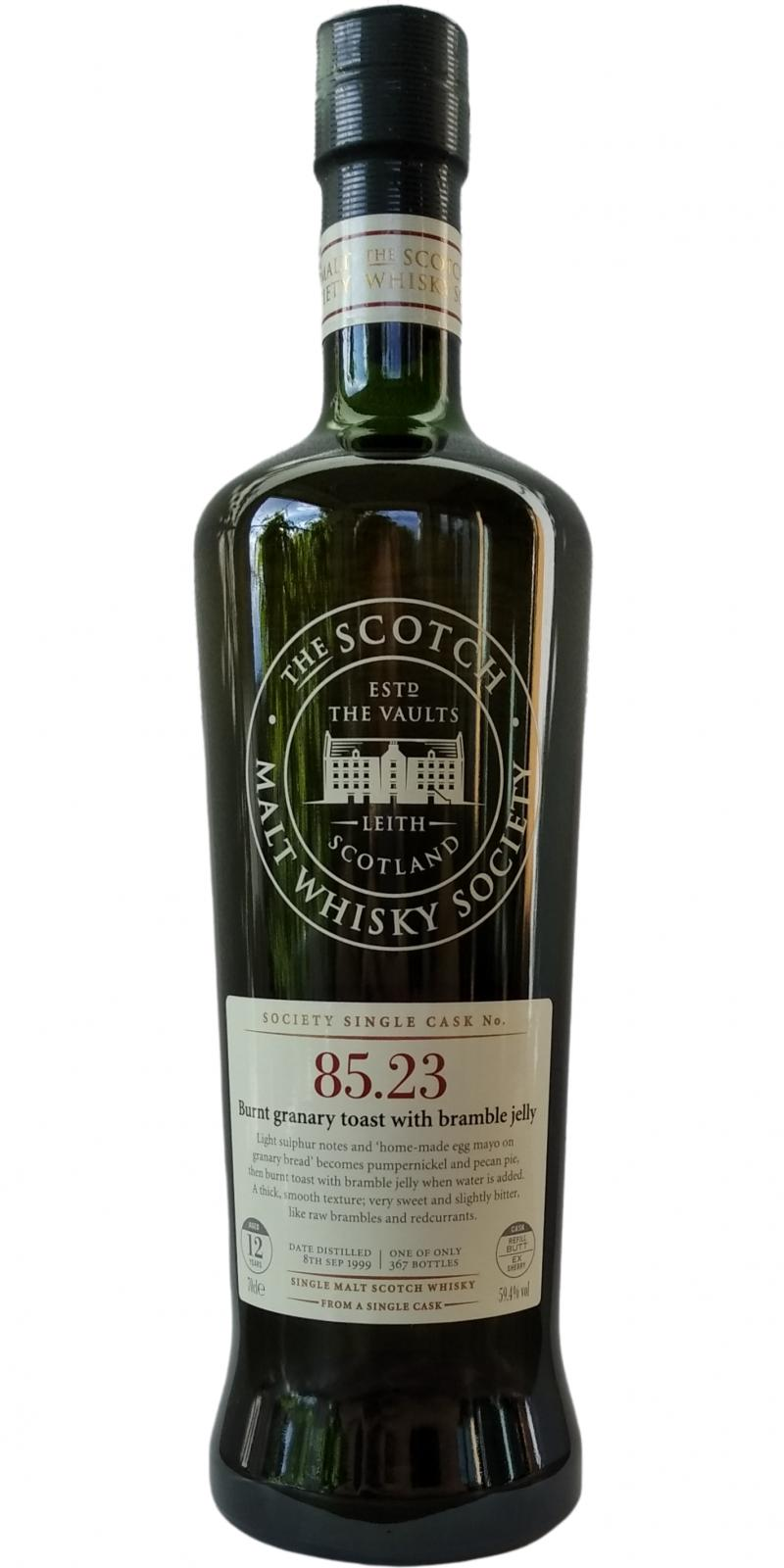 Glen Elgin 1999 SMWS 85.23