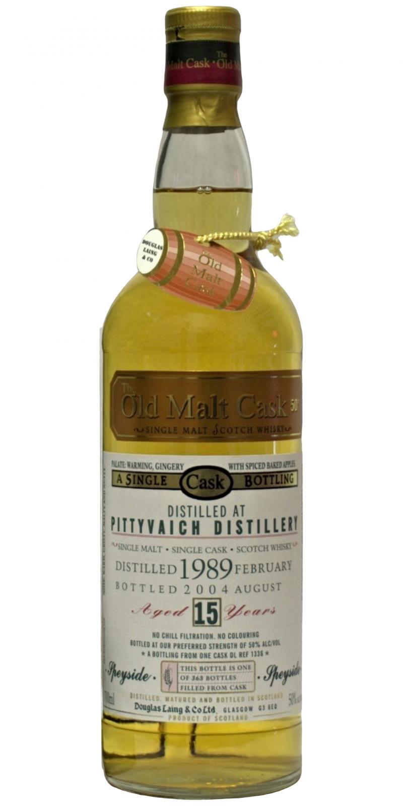 Pittyvaich 1989 DL