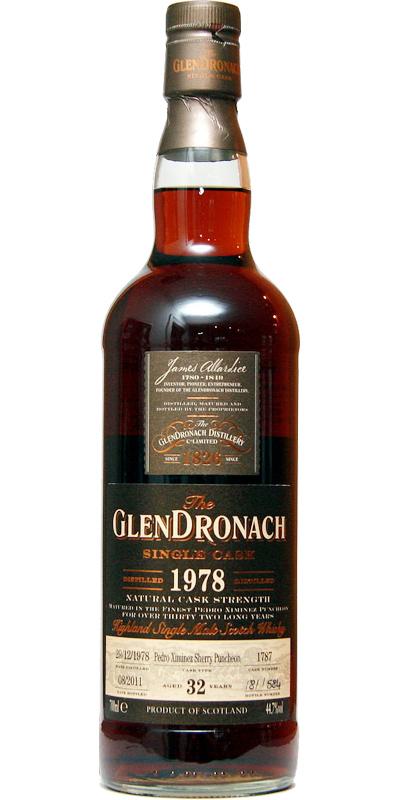 Glendronach 1978