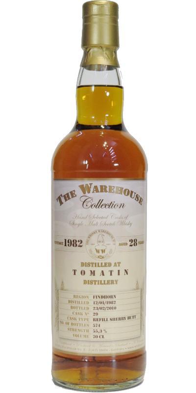 Tomatin 1982 WW8