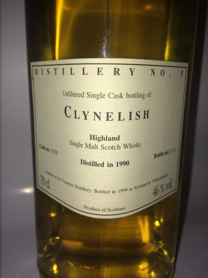 Clynelish 1990 VM