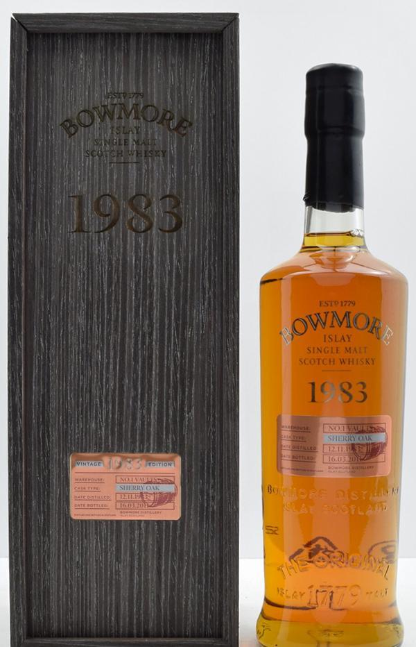Bowmore 1983 Vintage