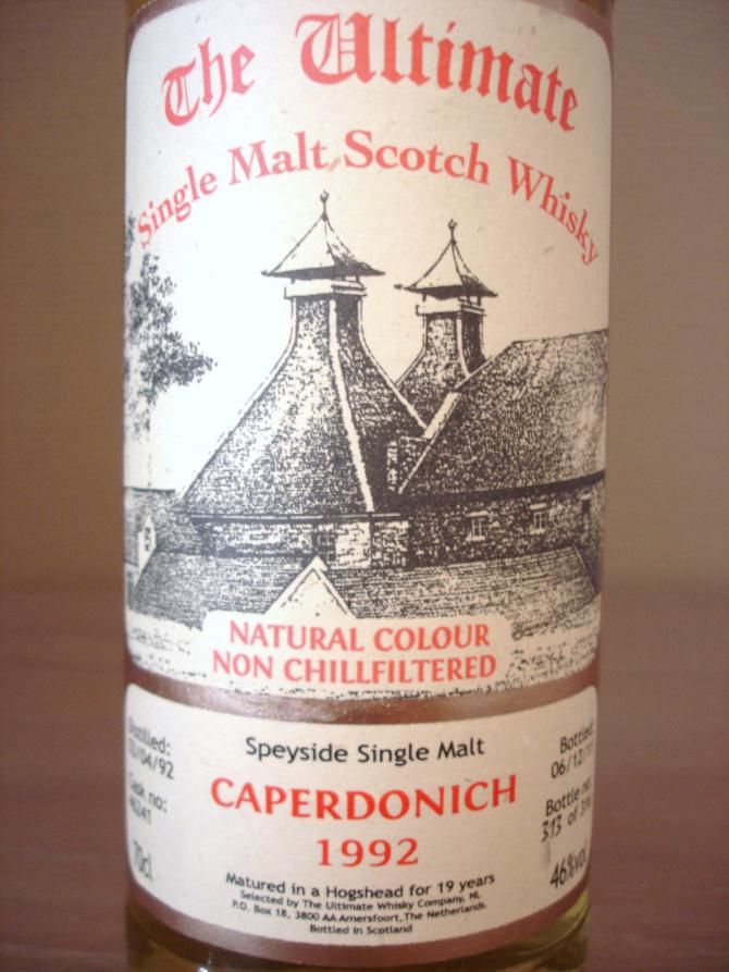 Caperdonich 1992 vW