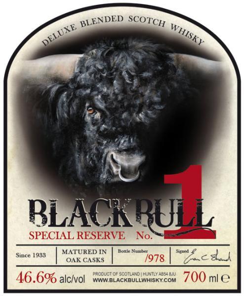 Black Bull Special Reserve No. 1 DT