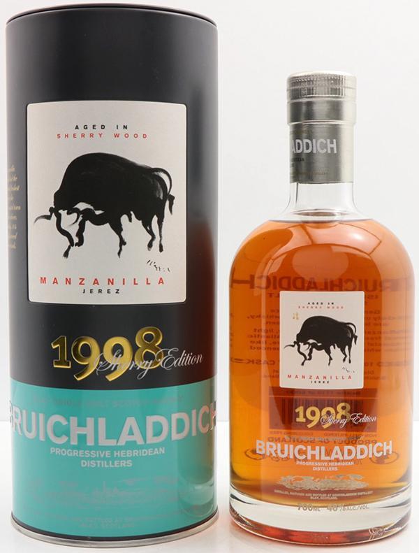 Bruichladdich 1998 Manzanilla