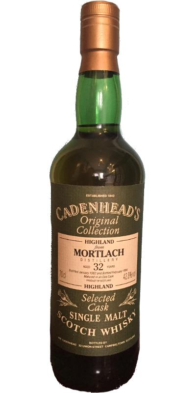 Mortlach 1962 CA