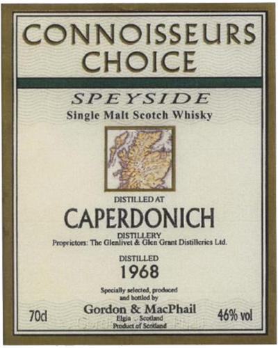 Caperdonich 1968 GM