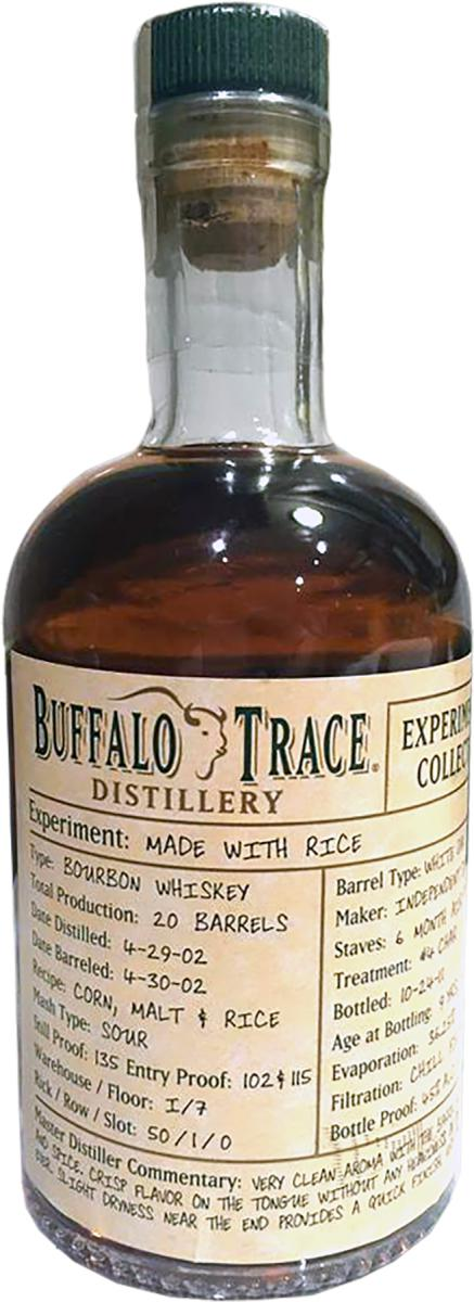 Buffalo Trace 2002